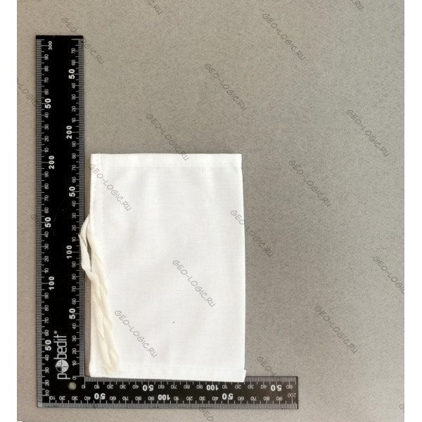 Мешок для проб из бязи отбеленной 10x15