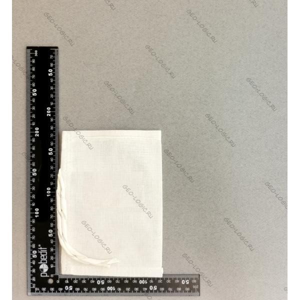 Мешок для проб из двунитки 10x15