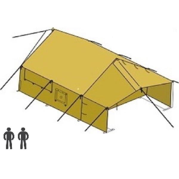 Брезентовая палатка двухместная